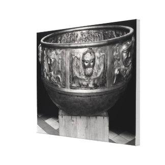 Form des Gundestrup großen Kessels Galerie Faltleinwand