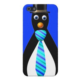 Formale Pinguine: Blau Schutzhülle Fürs iPhone 5