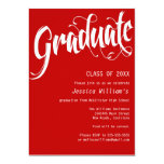 Formales Abschluss-Party Ankündigungskarten