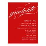 Formales Abschluss-Party Personalisierte Ankündigungskarten
