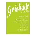 Formales Abschluss-Party 12,7 X 17,8 Cm Einladungskarte