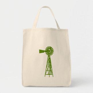 Forrest grünes Windmill.png Tragetasche