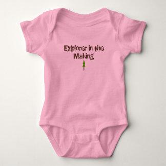 Forscher-Bodysuit Baby Strampler