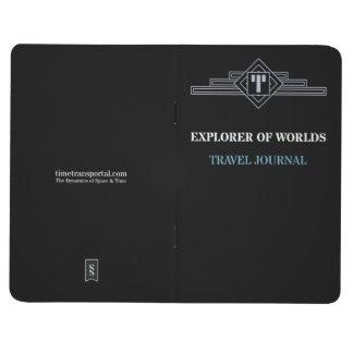 Forscher der Welten - Reise-Zeitschrift Taschennotizbuch