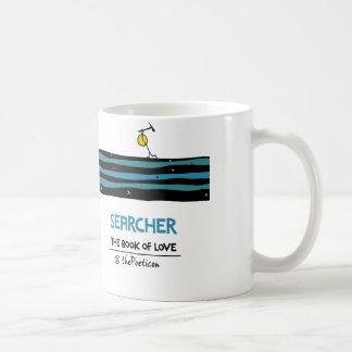 Forscher durch das Poeticon Kaffeetasse
