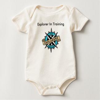 Forscher-Niveau 1 Baby Strampler