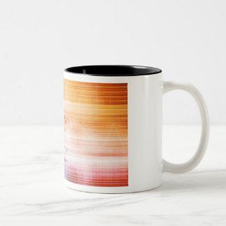 Forschung und Entwicklung mit Doktor Viewing Zweifarbige Tasse