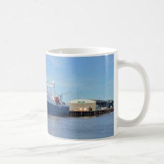 Forschung und Übersichts-Schiff-Seeforscher Kaffeetasse