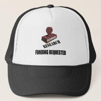 Forschungs-Finanzierungs-Bier-T - Shirt-Geschenke Truckerkappe