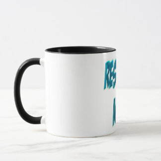 Forschungs-Nerd-Blau Tasse