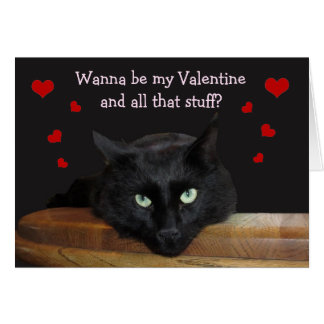 """Förster, """"wollen Sie, um mein Valentine-zu sein"""" Karte"""