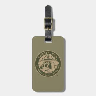 FörsterRick FörsterRick | kakifarbiges Logo Gepäckanhänger
