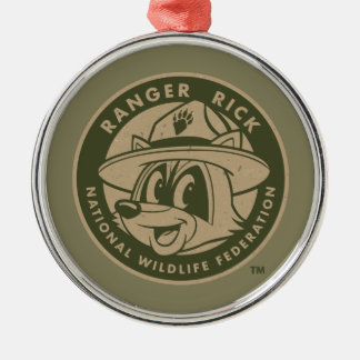 FörsterRick FörsterRick | kakifarbiges Logo Silbernes Ornament