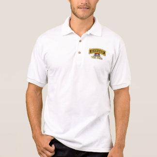 Förstervietnam nam Kriegs-Polo-Shirt der Armee im Polo Shirt
