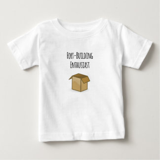 Fort-Gebäude Enthusiast Baby T-shirt