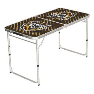Fort heut Polka-Punkt-Muster des Staats-  Beer Pong Tisch