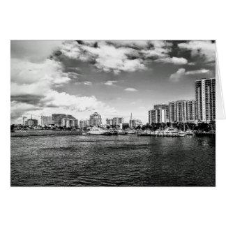 Fort Lauderdale, FL-Gruß-Karte Karte