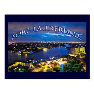 Fort Lauderdale, Florida, USA Postkarte