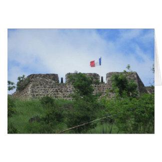 """Fort-LouisRamparts """"St. Maarten """" Karte"""
