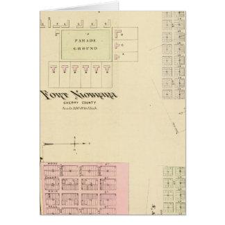 Fort Niobrara, Nebraska Karte