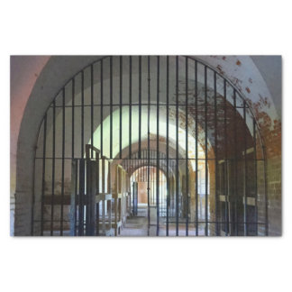 Fort Pulaski Gefängnis Seidenpapier