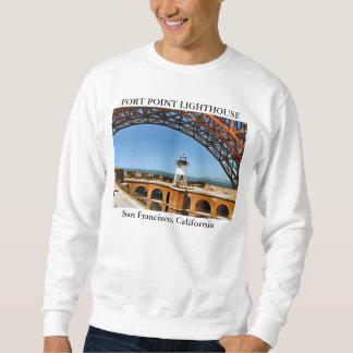 Fort-Punkt-Leuchtturm, San Francisco Kalifornien Sweatshirt