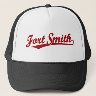 Fort Smith Skriptlogo im Rot Truckerkappe