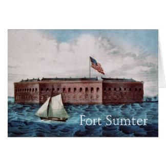 Fort Sumter Karte