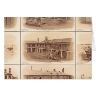 Forts Sumter u. Moultrie Karte