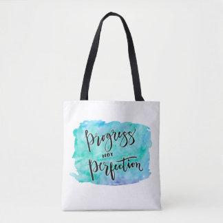 Fortschritts-nicht Perfektions-Tasche Tasche