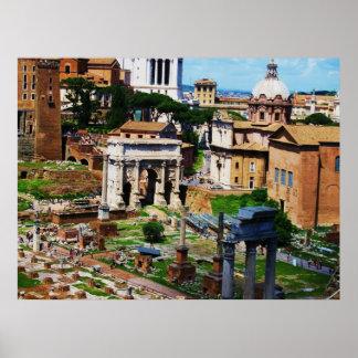 Forum-Panorama-Rom-Foto 2009 Poster