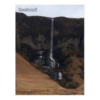 Foss á Siðu, Südisland Postkarte