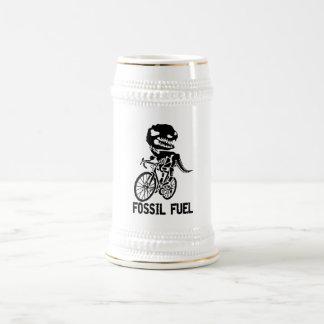 Fossilbrennstoff Bierglas