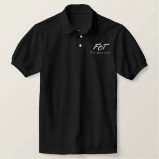 FOT - der Platz zum zu sein Besticktes Polo Shirt