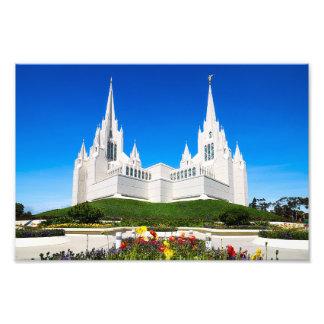 Foto 8X10 von ihm San Diego LDS Tempel