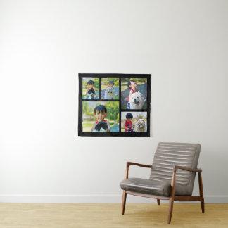 Foto-Andenken-Collagen-Wand-Hängen der Wandteppich