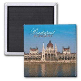 Foto-Andenken-Kühlschrankmagnete Budapests Ungarn Quadratischer Magnet