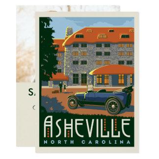 Foto Ashevilles, Nord-Carolina | Save the Date - 14 X 19,5 Cm Einladungskarte