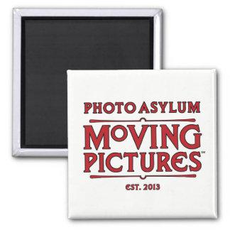 Foto-Asyl-bewegliche Bild-Magnet Quadratischer Magnet