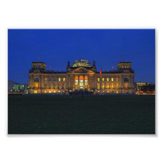 Foto Berlin Reichstag am Abend