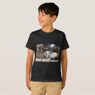 Foto-Bomben-Pferd scherzt Shirt-schwarzes lustiges T-Shirt