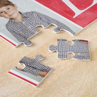 Foto-Collage der Chic-Liebe-4 Puzzle