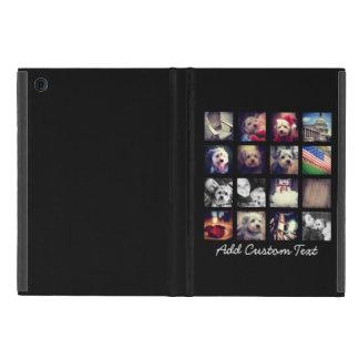 Foto-Collage mit schwarzem Hintergrund Schutzhülle Fürs iPad Mini