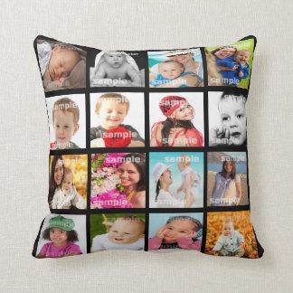Foto-Collage stellen Ihr eigenes DIY Kissen V2 her Zierkissen