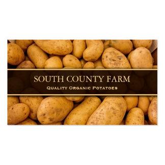 Foto der Kartoffeln - Kartoffel-Bauernhof - Visitenkarten