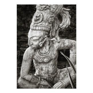 Foto-Druck - alte Mayazahl - Mexiko Fotodruck