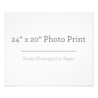 Foto-Druck der Gewohnheits-24 x 20 Fotodruck