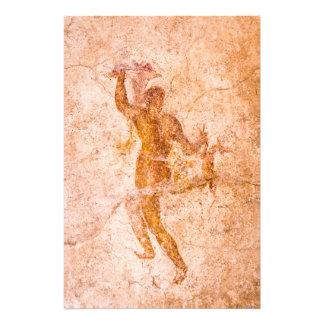 Foto-Druck - römisches Fresko, altes Pompeji, Fotodruck