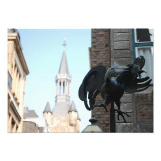 Foto einer Huhn-Statue