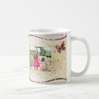Foto-Einklebebuch-Seite Kaffeetasse